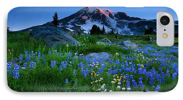 Paradise Garden Dawning Phone Case by Mike  Dawson
