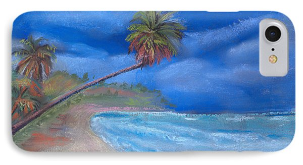 IPhone Case featuring the pastel Paradise In Puerto Rico by Arline Wagner