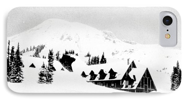 Paradise Inn Buried In Snow, 1917 Phone Case by Science Source