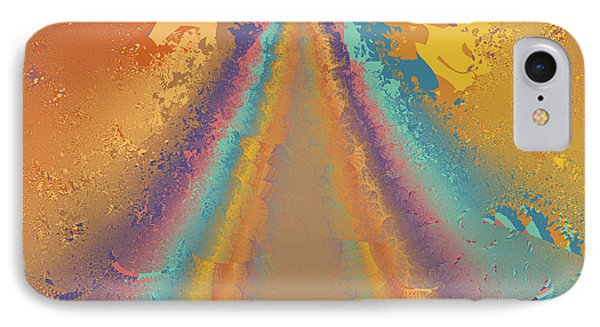 Parameter Space Mountain Phone Case by Mark Greenberg