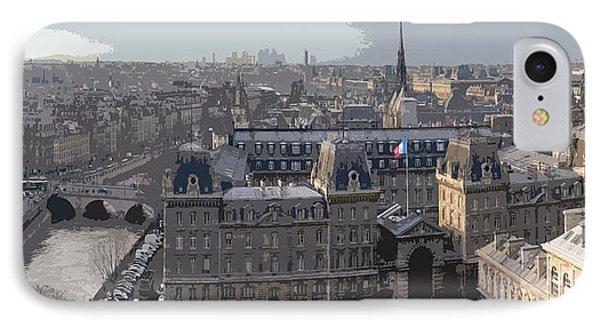 Paris 01 Phone Case by Yuriy  Shevchuk