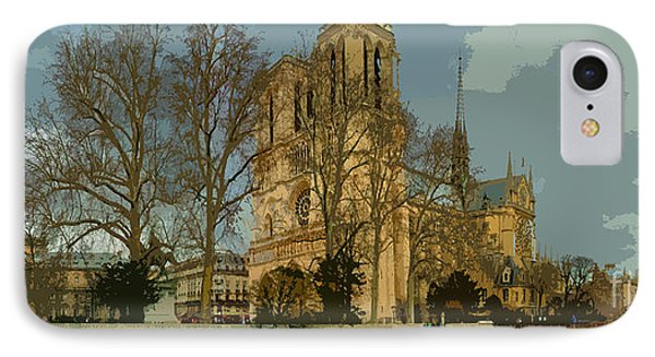 Paris 03 Phone Case by Yuriy  Shevchuk
