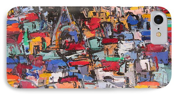 Paris At Night 02 Phone Case by Len Yurovsky