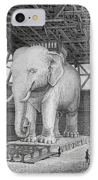 Paris: Elephant Monument Phone Case by Granger