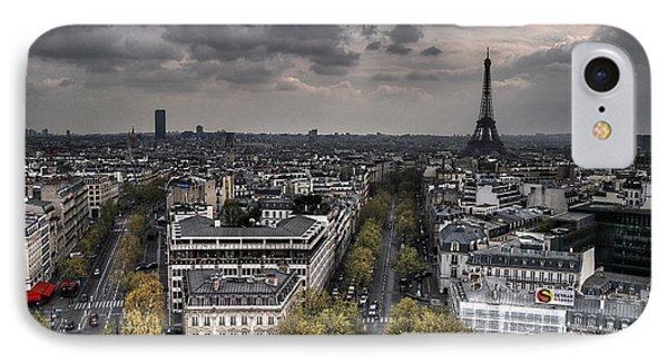 Paris No. 1 Phone Case by Ryan Wyckoff
