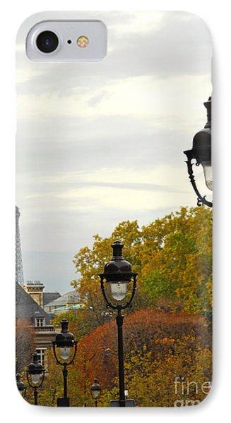 Paris Street Phone Case by Elena Elisseeva