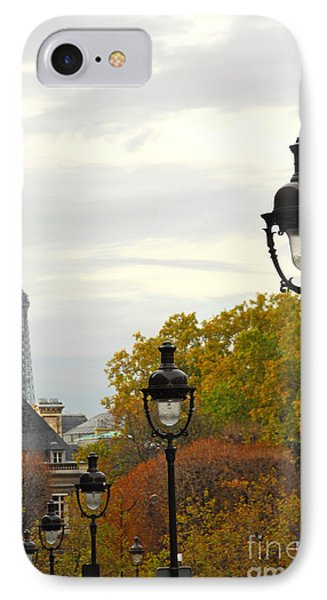 Paris Street IPhone Case by Elena Elisseeva