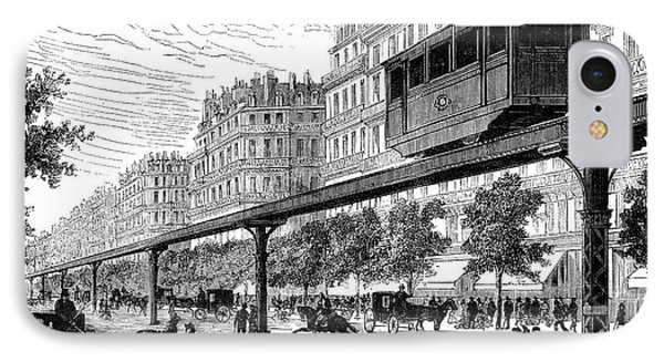 Paris: Tramway, 1880s Phone Case by Granger