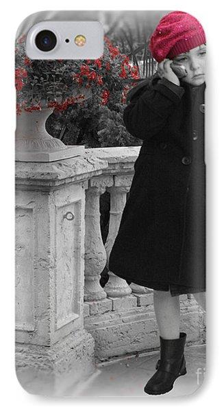 Parisian Model Stance Phone Case by ChelsyLotze International Studio