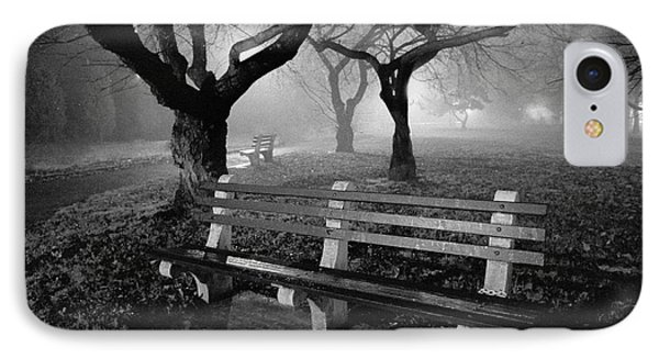 Park Benches Phone Case by Gary Heller