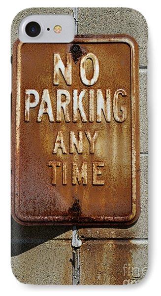 Park Here Phone Case by Luke Moore