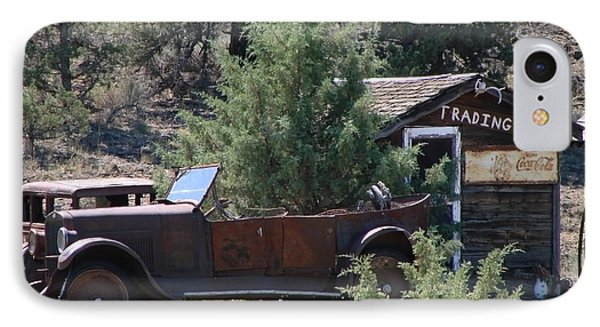 Parked At The Trading Post IPhone Case by Athena Mckinzie