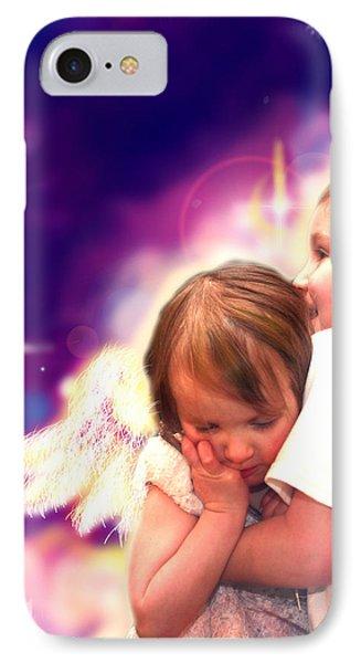 Parkinson.angelic 3 IPhone Case by Nada Meeks