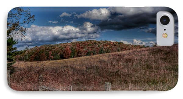 Parkway Fence Phone Case by Todd Hostetter