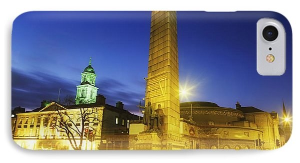 Parnell Square, Dublin, Ireland Parnell Phone Case by The Irish Image Collection
