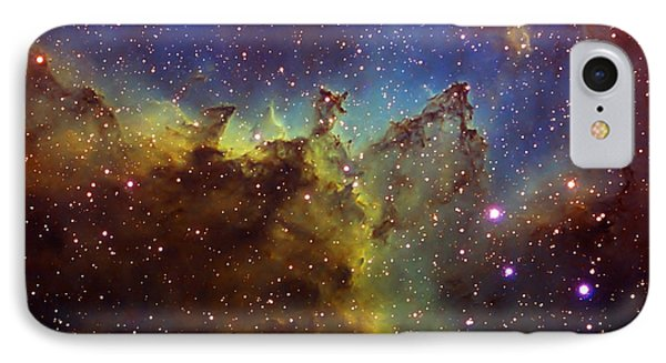 Part Of The Ic1805 Heart Nebula Phone Case by Filipe Alves