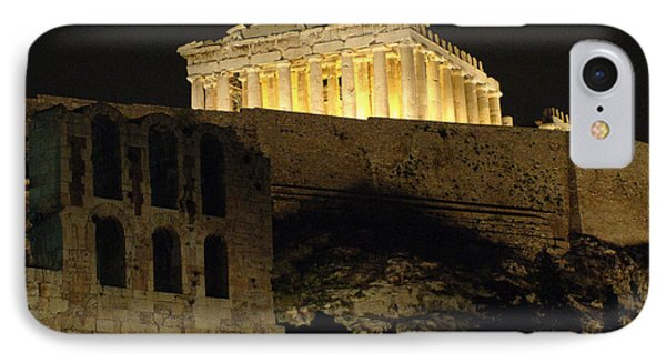 Parthenon Athens Phone Case by Bob Christopher