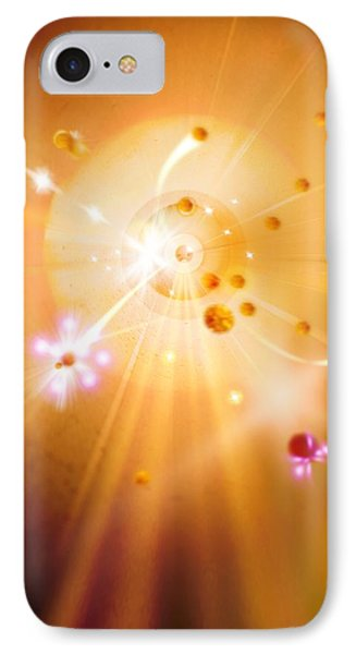 Particle Collision IPhone Case by Richard Kail