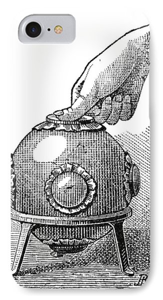 Pascal's Principle Demonstration, 1889 Phone Case by