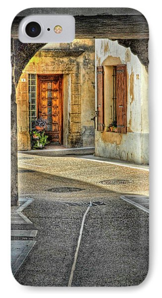 IPhone Case featuring the photograph Passageway And Arch In Provence by Dave Mills