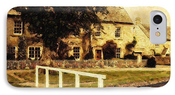 Passing Through The Cotswolds IPhone Case by Lianne Schneider