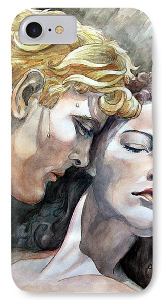 Passionate Embrace Phone Case by Hanne Lore Koehler