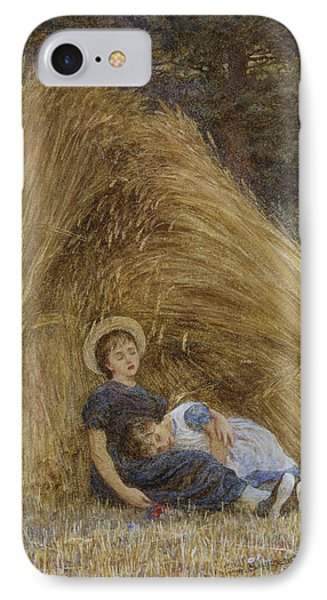 Past Work IPhone Case by Helen Allingham