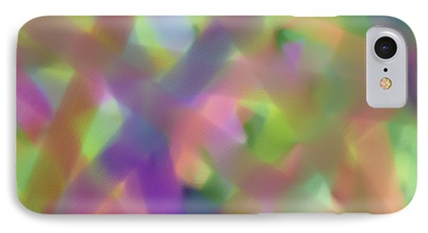 Pastel Beams Phone Case by Bonnie Bruno