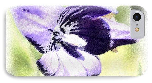 Pastel Iris Phone Case by Susan Leggett
