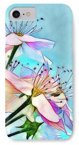 Pastel Petals Phone Case by Judi Bagwell