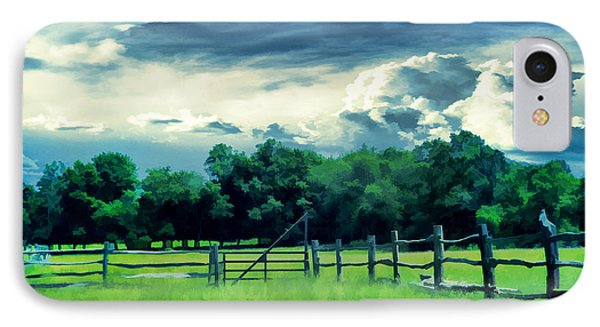 Pastoral Greenery IPhone Case
