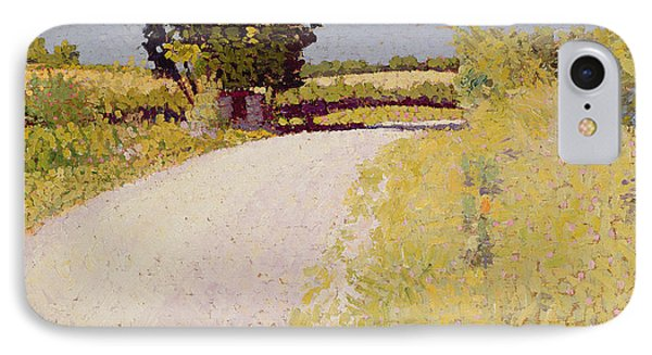 Path In The Country Phone Case by Charles Angrand