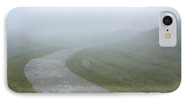 Path In The Fog Phone Case by Matthias Hauser