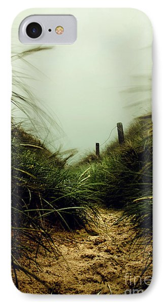 Path Through The Dunes Phone Case by Hannes Cmarits