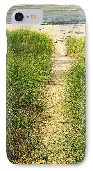 Path To Beach Phone Case by Elena Elisseeva
