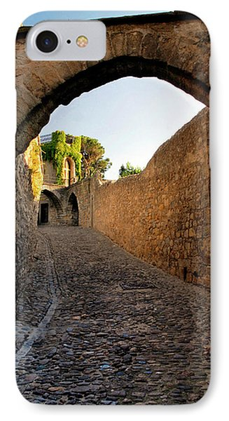 IPhone Case featuring the photograph Pathway Through Gordes France by Dave Mills