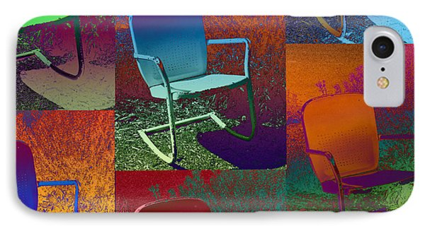 IPhone Case featuring the photograph Patio Chair by David Pantuso
