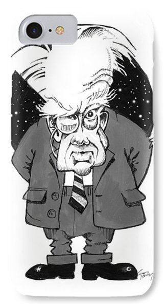 Patrick Moore, British Astronomer Phone Case by Gary Brown