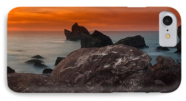 Patrick's Point Dusk Panorama Phone Case by Greg Nyquist