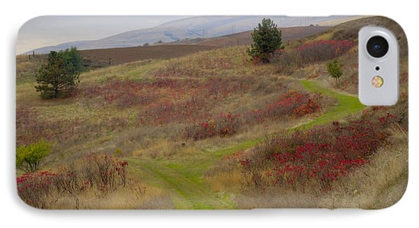 Paved In Green Phone Case by Idaho Scenic Images Linda Lantzy