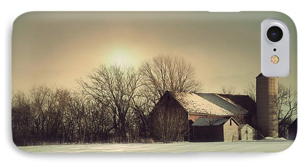 Peaceful Barn IPhone Case by Joel Witmeyer