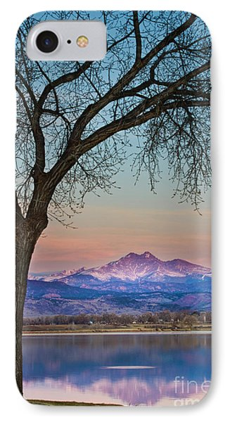 Peaceful Early Morning Sunrise Longs Peak View Phone Case by James BO  Insogna