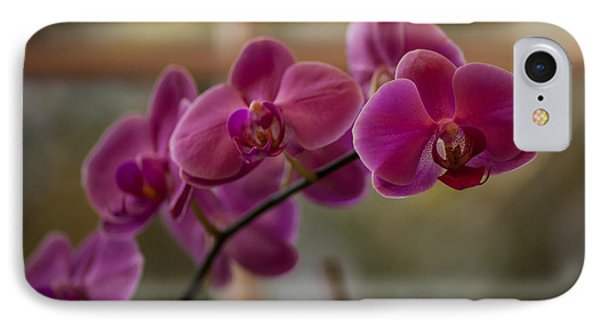 Peaceful Orchids Phone Case by Mike Reid