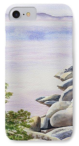 Peaceful Place Morning At The Lake Phone Case by Irina Sztukowski