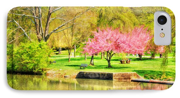 Peaceful Spring II Phone Case by Darren Fisher