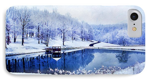 Peaceful Winters Day Phone Case by Darren Fisher