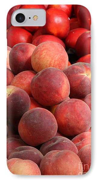 Peaches And Nectarines Phone Case by Carol Groenen