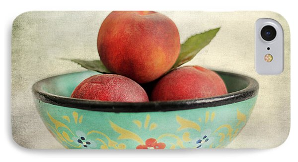 Peaches Phone Case by Darren Fisher