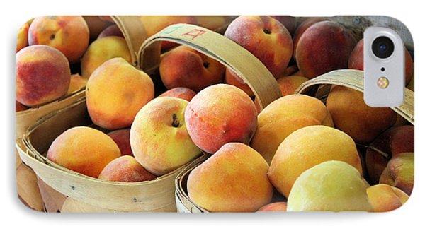 Peaches Phone Case by Kristin Elmquist