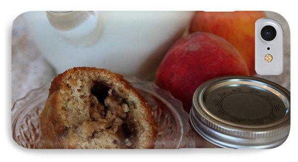 Peaches N Cream Phone Case by Karen Wiles